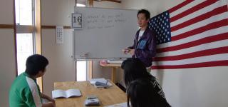 上級英語クラス授業風景