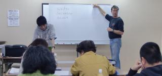 企業向け講師派遣 ハローワークでの英語教室の様子