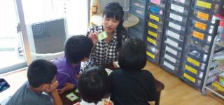 キッズ英会話クラス授業風景